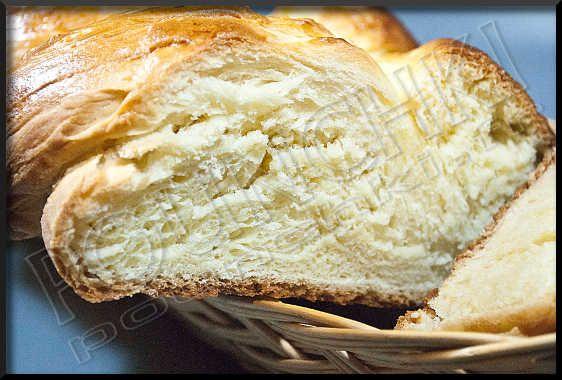 la recette du Quegnet, une brioche tressée des Hautes Vosges