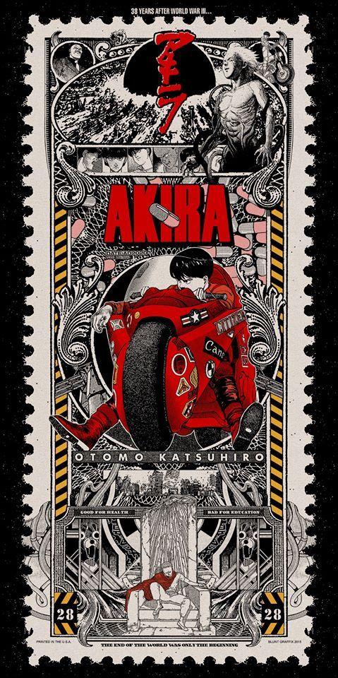 AKIRA by MATT DYE /