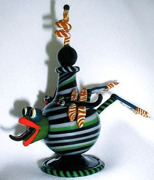 Leaping Frog Perfume Bottle