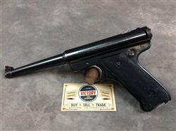 "This is a very nice condition #Ruger Mark I Automatic #pistol, .22LR, 6"", SN:15-06xxx, dating the pistol to 1978."