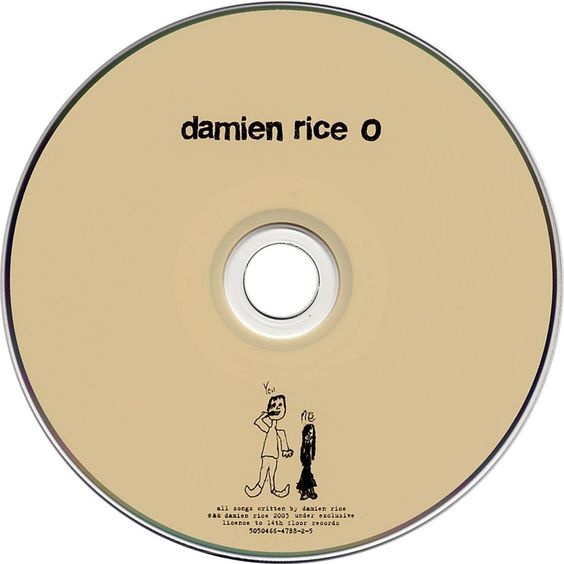 Carátula Trasera de Damien Rice - O