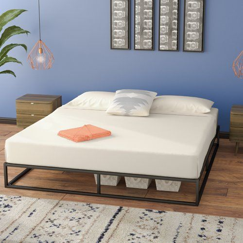 Cyril Bed Frame Cheap Bed Frame Simple Bed Frame Wayfair Furniture
