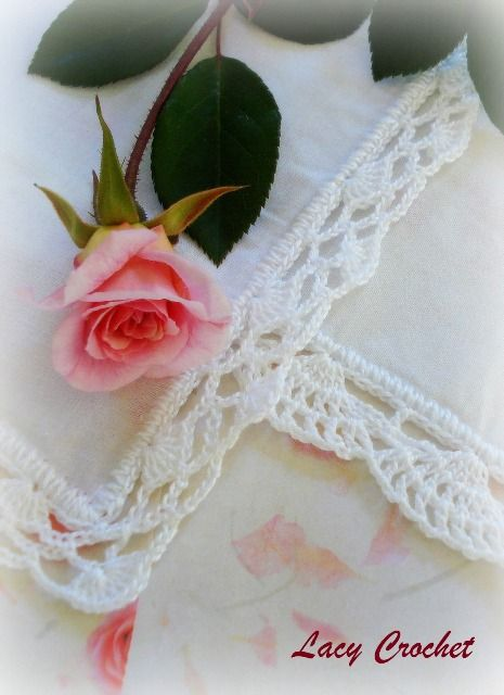 Crochet Lace Edgings: free pattern Crochet LOVE ...