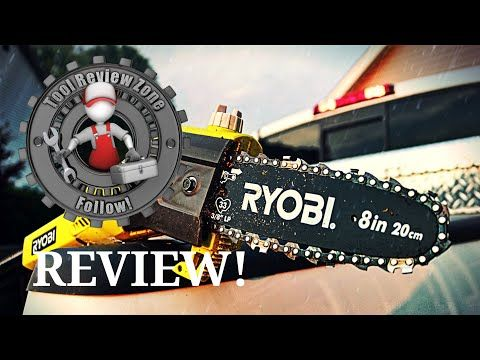 Need To Trim Some Trees Check Out Our Review On The Ryobi
