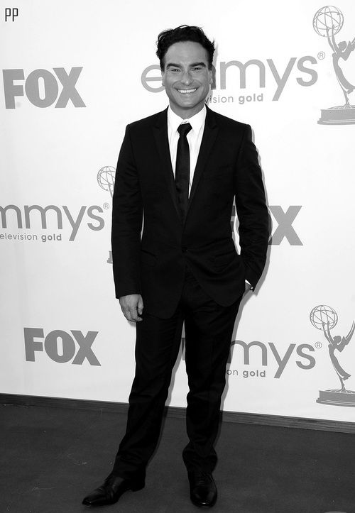 johnny galecki at the emmys