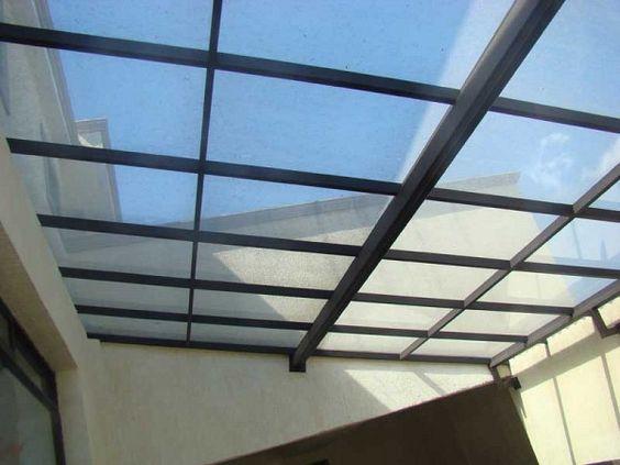 Domo de herreria para terraza patios pinterest b squeda for Ideas para hacer un techo en el patio