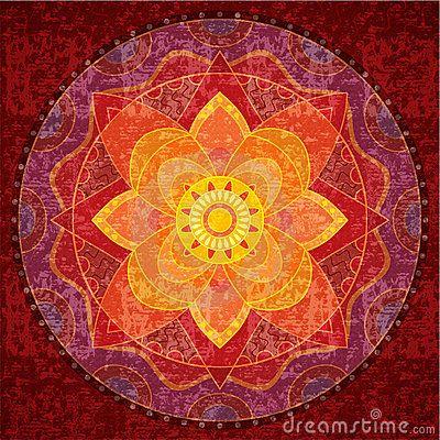 Mandala roja