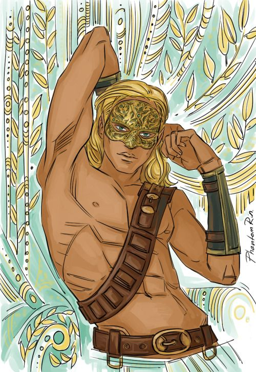 And some SUPER yummy/gorgeous Tamlin fanart by PhantomRin! eeeeeeeee!: