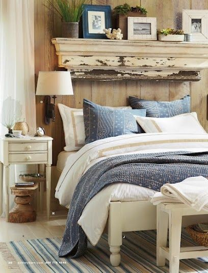 Shabby Bedroom from Pottery Barn | Friday Favorites at www.andersonandgrant.com