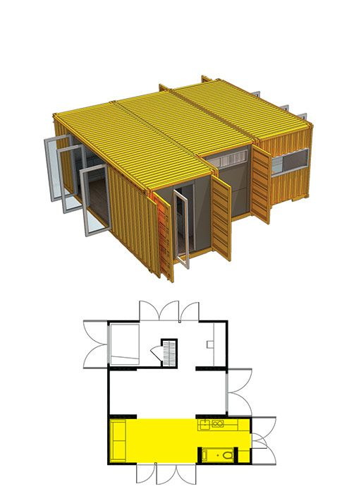 How to built montainer home joy studio design gallery best design - Lot ek container home kit ...