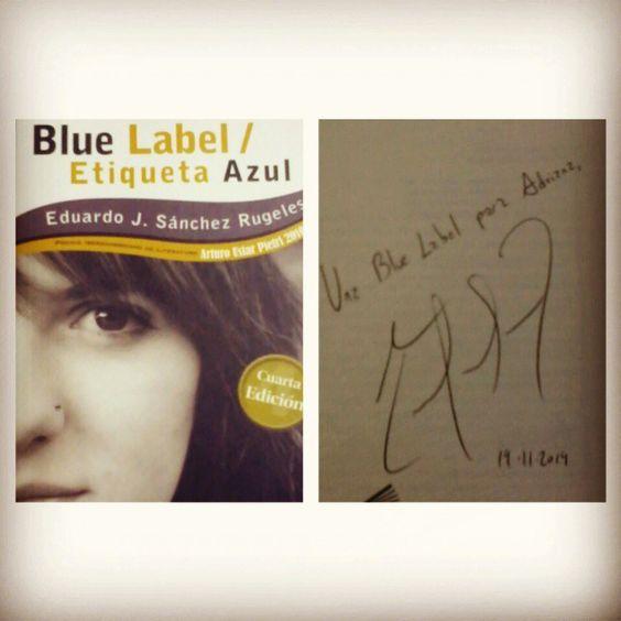Mi ejemplar firmado por el autor.