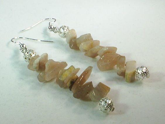 Charming, Flower Jade  Gemstone Earrings Designer Jewelry, Handcrafted Jewelry  6009MJ