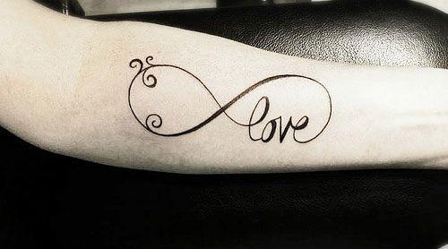 Tatouages infini and tatouages de symbole de l 39 infini on pinterest - Signe infini tatouage ...
