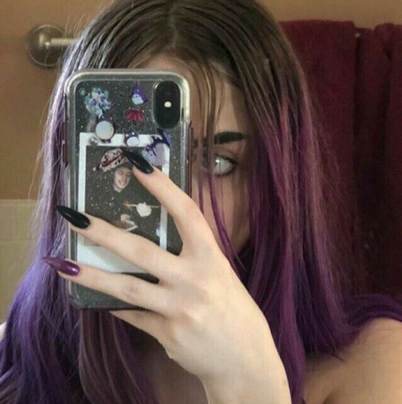 اكسبلور صور افتار افتارات رمزيات رمزيات بنات ستوريات سنابات صور بنات بنات اسئلة ستوري Aesthetic Hair Grunge Nails Grunge Hair