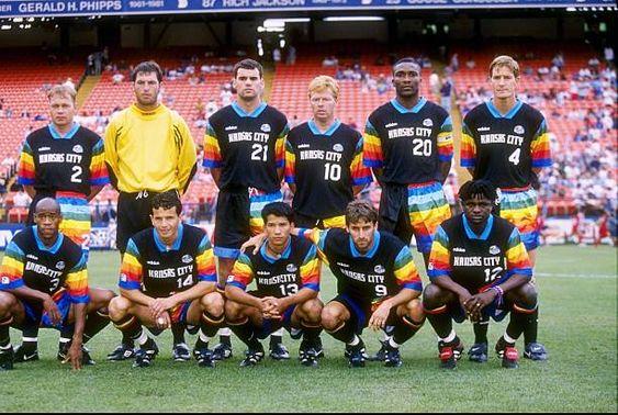 Talisman & Co.   Kansas City Wizards 1997 Adidas Away Jersey