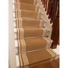 Image result for wooden steps with carpet runner