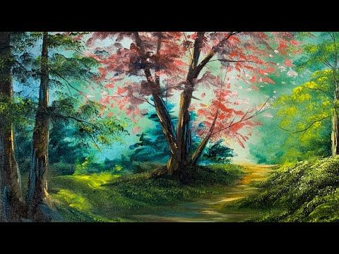 Free Painting Tutorial Magical Forest Oil Painting Paintings By Justin Youtube Landscape Painting Tutorial Landscape Paintings Painting Tutorial