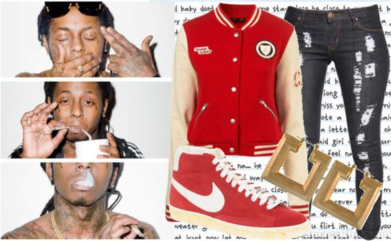 """They Freed mah LIL WEEZY 3"" by mrscarterwest on Polyvore"