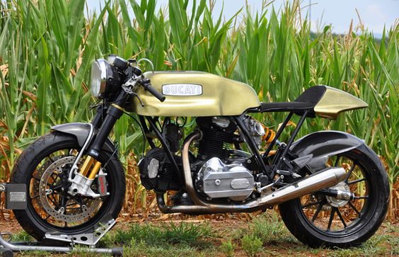 Ducati Cafe 31 by DesmoPro ~ Return of the Cafe Racers
