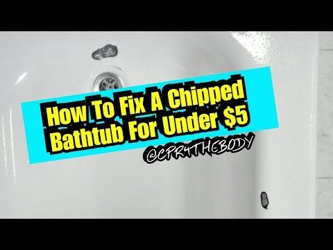 Pin On How To Fix A Chipped Bathtub