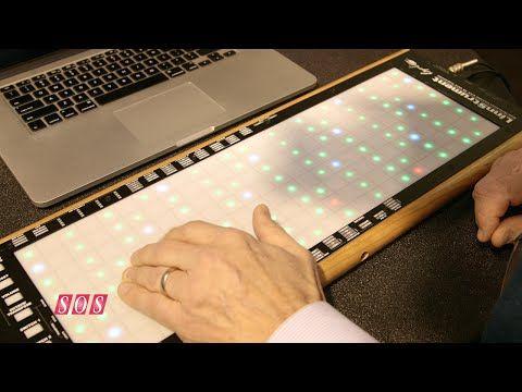 Roger Linn Design - LinnStrument MIDI Controller NAMM 2015 - YouTube   MOAR EXPRESSIVITY YES PLZ