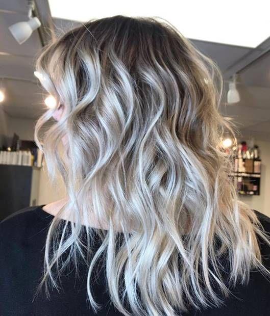 درجات لون صبغة اومبري بلاتيني اشقر الطريقة و الاسعار و الالوان Ombrehair Hairstyles Haircolor Haircoloring Ombre Hair Color Long Hair Styles Hair Color