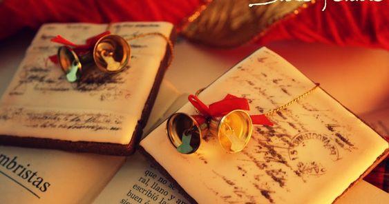 Dolce Sentire {Galletas decoradas}: Galletas de Jengibre: Una carta para Papa…