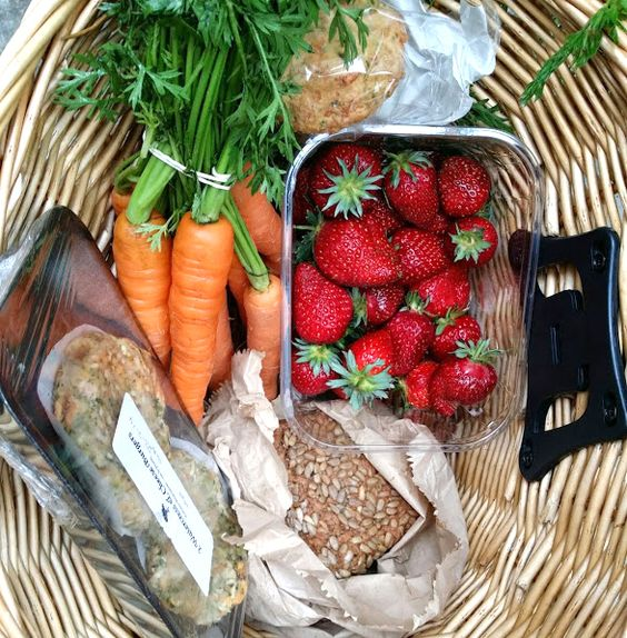 Delicious, fresh food from the farmers' market!