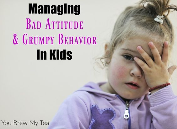 Bad Attitude & Grumpy Behavior in your kids doesn't have to derail your day.  Use our parenting tips to manage these attitudes and make things better when your kids get home from school each day!