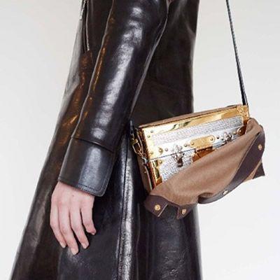 Louis Vuitton's New Petite-Malle Bags Unveiled At Paris Fashion Week