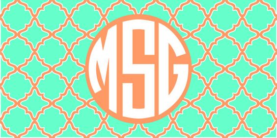 Personalized Monogrammed Beach TowelTurquoise by Monogramjunkie, $40.00