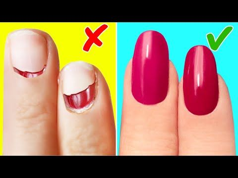 22 Hacks Every Girl Needs To Know In 2020 Natural Nail Treatment Acrylic Nails At Home Make Your Own Makeup