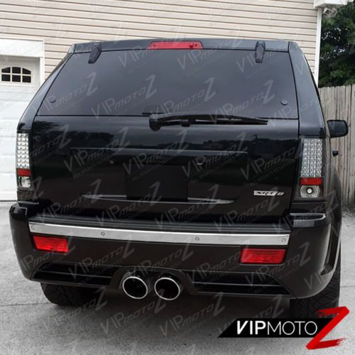 Details About For 07 10 Jeep Grand Cherokee Brightest Black Led Smd Rear Brake Tail Light Wk