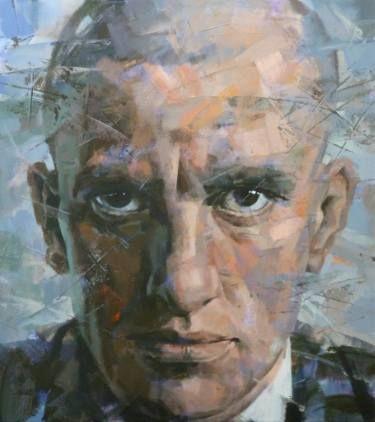 "Saatchi Art Artist Alexander Ilichev; Painting, ""MAYAKOVSKY"" #art:"