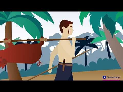Lord Of The Flies Chapter 4 Summary With Images Lord Of The