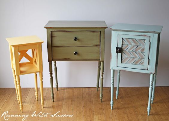 Running With Scissors: Cottage Side Tables