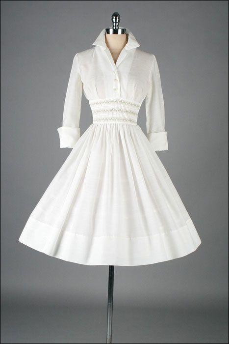 Vintage 1950s Dress: