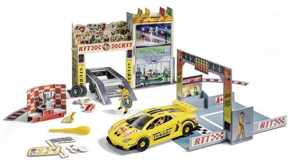tiptoi Spielwelt Autorennen