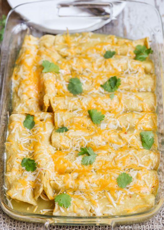 mexican chicken enchiladas recipe with corn tortillas