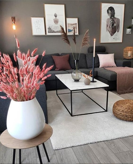 80 Most Popular Living Room Decor Ideas Trends On Pinterest You Can T Miss Out Cozy Home In 2020 Home Living Room Living Room Decor Apartment Apartment Living Room