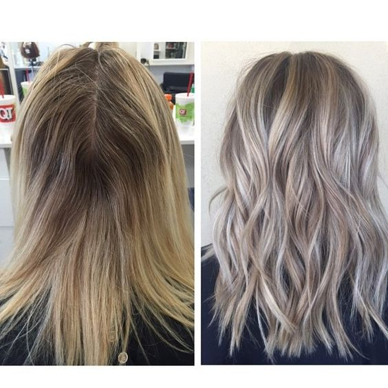 Love our in-salon education program by the best manager @brigittedoeshair nice work by @beautybybradi  #saloneducation #educationiskey #makeitahabit #hairpainting #modernsalon #hairstyles #hairsandstyles #beforeandafter #hairtransformation