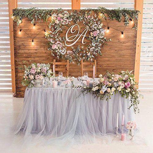 Hand Made Tutu Skirt Wedding Decorations On A Budget Wedding