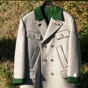 """Loden has been the high performance product of the Alpine population for centuries. And a fabric that is synonymous with the national identity. Nothing protects so naturally against cold, rain and wind. The """"Schladminger Rock"""" is particularly famous, a robust men's jacket. The cloth for this garment is produced in Austria's oldest Lodenwalke. © Österreich Werbung/Steiner #austria #schladming #loden #visitaustria"""