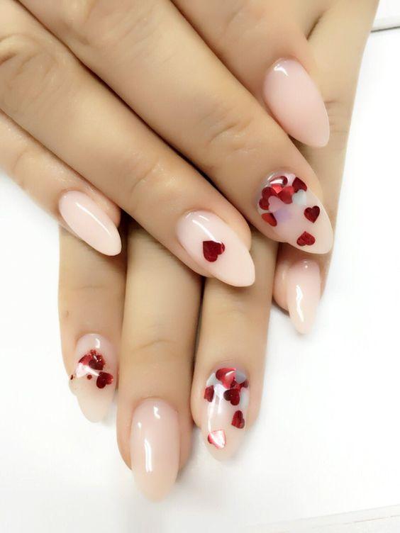VALENTINES DAY NAIL ART Aichan nails