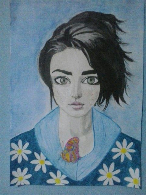 #watercolour #aquarelas #acuarelas #illustration #ilustracion #ilustraçõe #woman #menina #mujer #mulher #desenho #draw # Dibujo