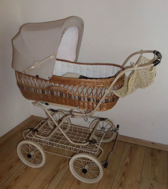 Retro Kinderwagen Korbkinderwagen Nostalgie ähnl. Eichhorn 80er von Knorr in Baby, Kinderwagen & Zubehör, Kinderwagen | eBay