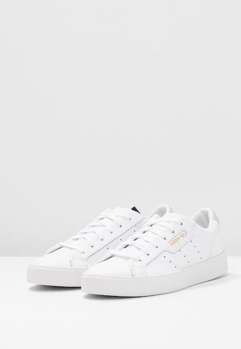 SLEEK Sneakers laag footwear whitecrystal white