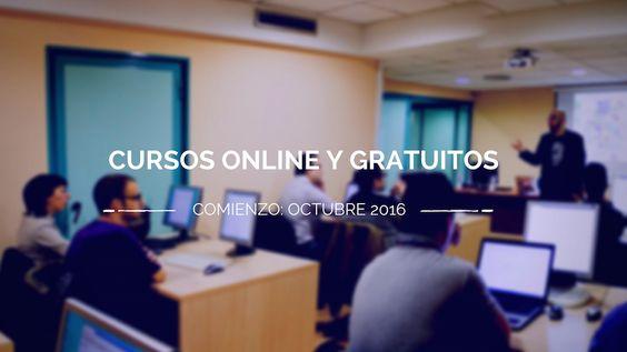 Cursos gratuitos online que comienzan en octubre.  Os compartimos la recopilación de cursos gratuitos online universitarios (MOOC), en inglés y castellano, de distintas disciplinas y temáticas, organizados, diseñados e impartidos por más de 100 instituciones y universidades reconocidas de todo el planeta.