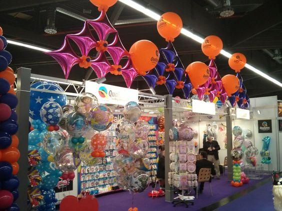 stand feria globos