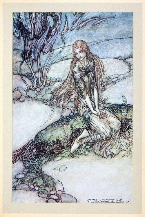 Arthur Rackham Undine By Friedrich De La Motte Fouque Arthur Rackham Illustration Fairytale Illustration